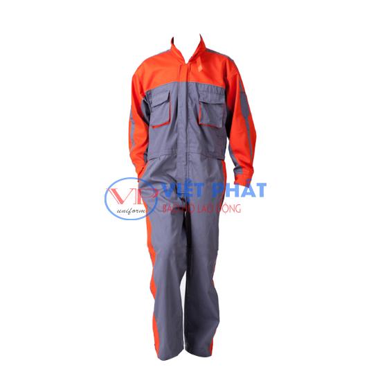 trang phục bảo hộ cơ khí Việt Phát