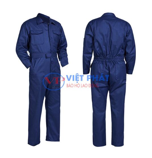 Áo liền quần đồng phục cơ khí